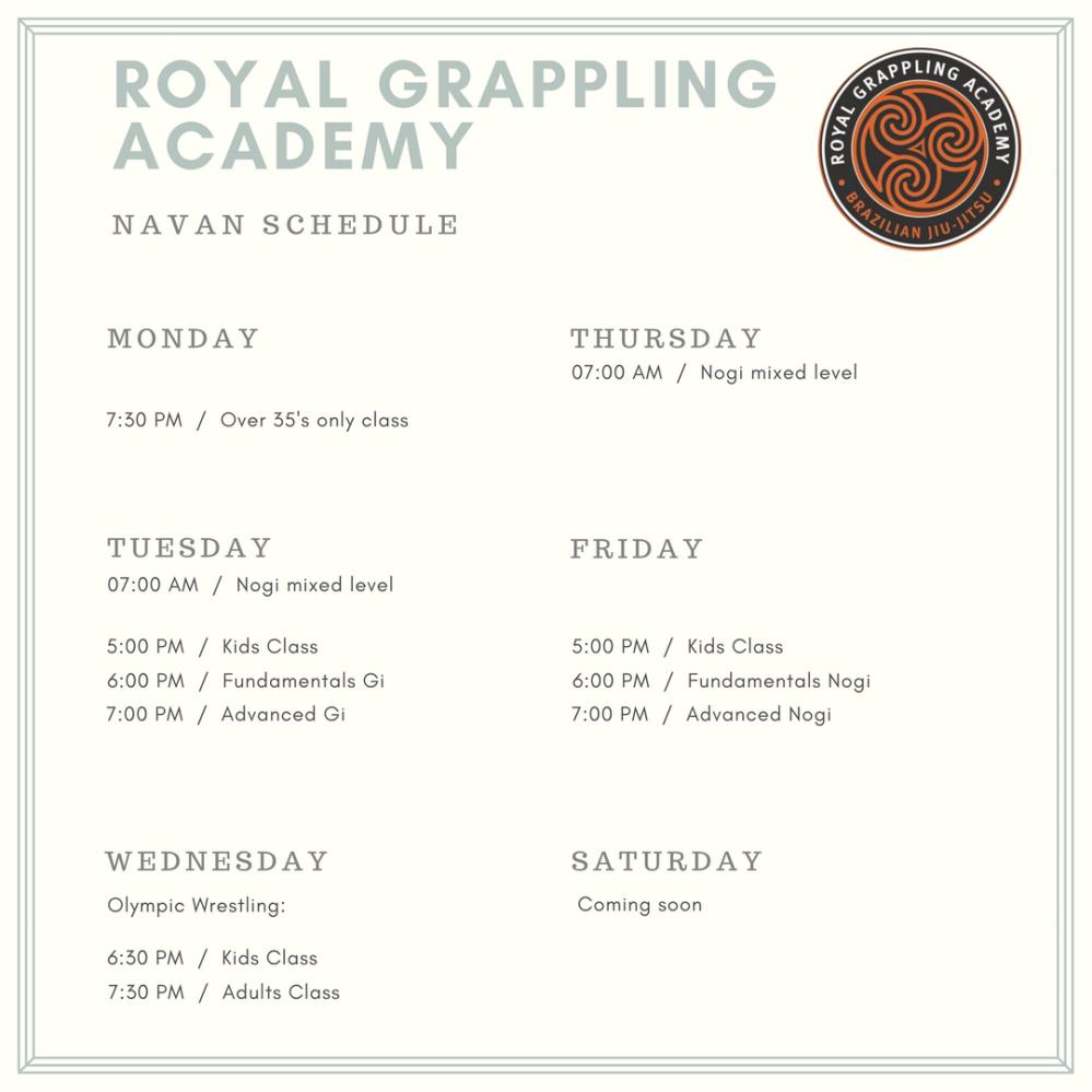 Oct 2017 Navan schedule
