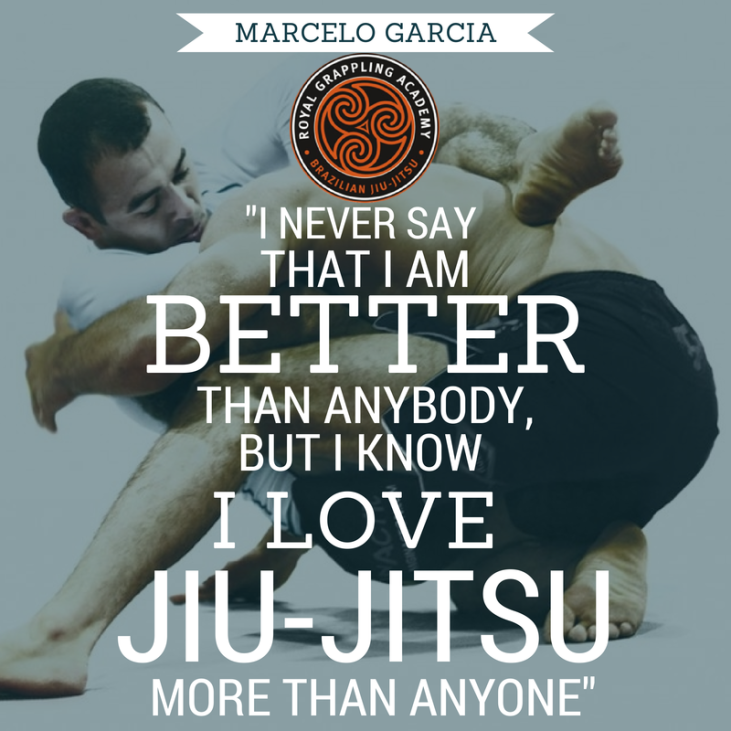 MARCELO GARCIA fucking loves jiu=jitsu